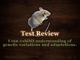 U14 D09 - Review for Test (Variation and Adaptation unit)