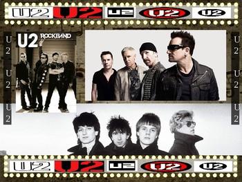 U2 (Bono, Edge, etc.) : 25 slides (text, hyperlinks, primary sources, handouts)