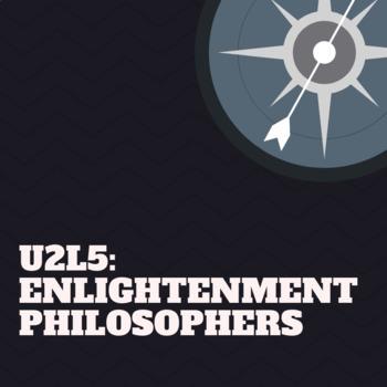 U2GD5: Enlightenment Philosophers