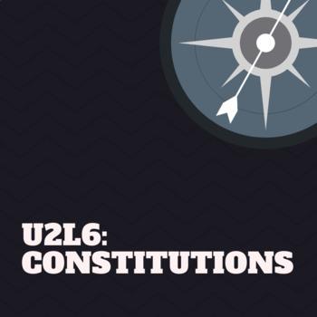 U2GD6: Constitutions