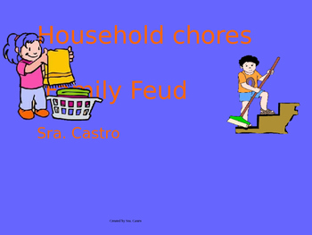 U3E2 Family Feud household chores
