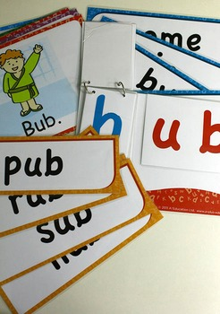 'UB WORD FAMILY' Phonics Lesson Package