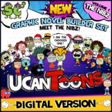UCanToons GRAPHIC NOVEL BUILDER SET   COMIC   Creative Writing   DIGITAL ONLY