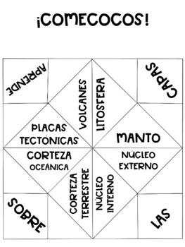 UD Capas de la Tierra (4º, 5ºEP) (ESPAÑOL)