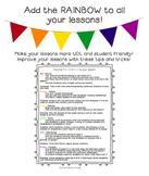 UDL Lesson Tips