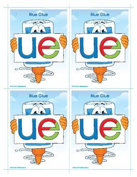 UE (Blue Glue) Word Buddy Card