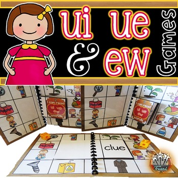 UE UI EW Phonics Games