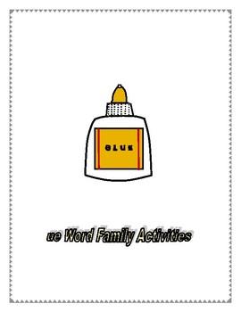 UE WORD FAMILY ACTIVITIES