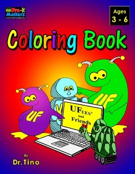 UFEES and Friends Coloring Book