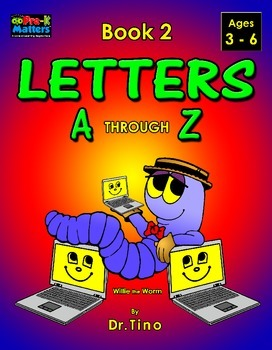UFEES and Friends Letters A through Z (Book 2)