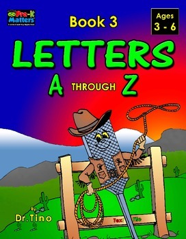 UFEES and Friends Letters A through Z (Book 3)