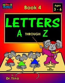 UFEES and Friends Letters A through Z (Book 4)