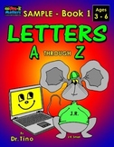 UFEES and Friends Letters-Numbers-Shapes Sample