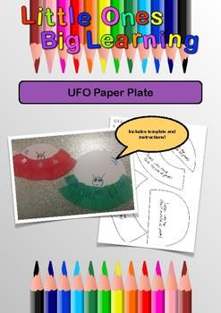Paper Plate UFO