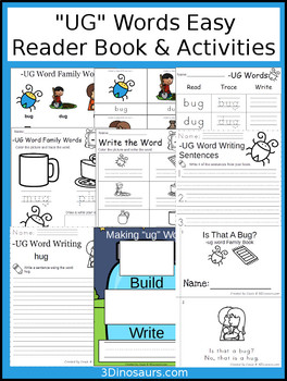 UG Easy Reader Book and Activities