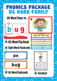'UG WORD FAMILY' Phonics Lesson Package