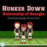 UGA Bulldogs non-fiction reading comprehension