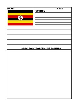 UGANDA Summary Writing and Mural Assignment