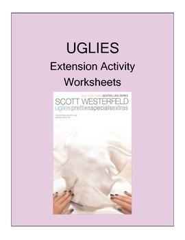UGLIES (SCOTT WESTERFIELD) NOVEL EXTENSION ACTIVITY WORKSHEETS