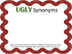 UGLY Sweater Synonyms and Antonyms