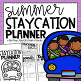 Summer STAYcation Planner {An End of Year Activity}
