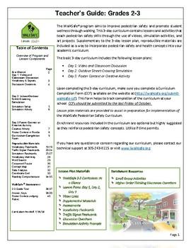 UHealth WalkSafe Curriculum: 2-3rd Grade