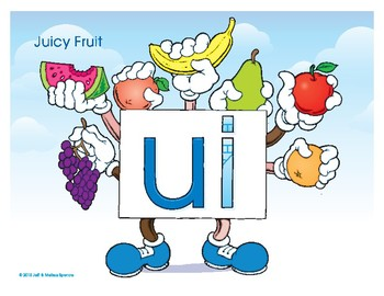 UI (Juicy Fruit) Word Buddy Poster