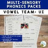 Vowel Team: UI Variant Vowels   Orton-Gillingham Multisens