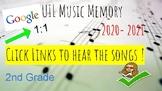 UIL Music Memory 2020 - 2021  2nd Grade  -Digital  - HEAR