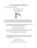 UIL Science Static Equilibrium (Crane)