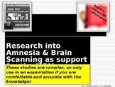UK A-Level Memory: Brain Scanning and Amnesia Studies