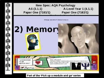 UK AQA A-Level Psychology: Year 1 MEMORY