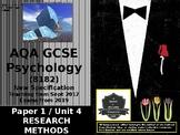 UK AQA GCSE Psychology Research Methods