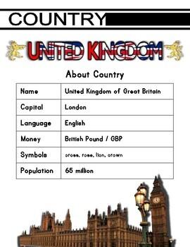 United Kingdom Activity Set
