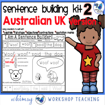 UK Australian Version - Sentence Building Kit 2