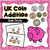 UK Coin Addition Task Cards