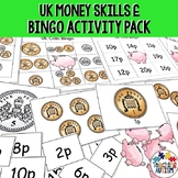 UK Coins Bingo Game