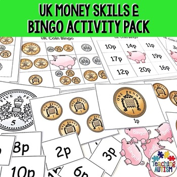 UK Coins Bingo Game