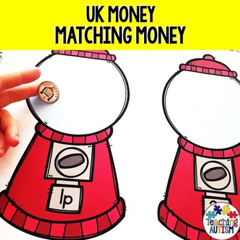 UK Coins Gum Ball Sorting Game