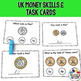 UK Coin Recognition Task Cards