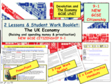 UK ECONOMY and Privatisation - Tax and Finance NEW GCSE Citizenship 9-1