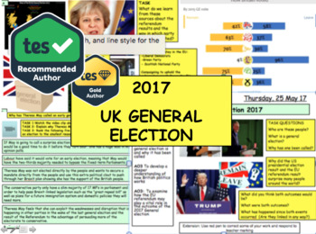 UK General Election 2017 and Brexit - Parliament Governmen