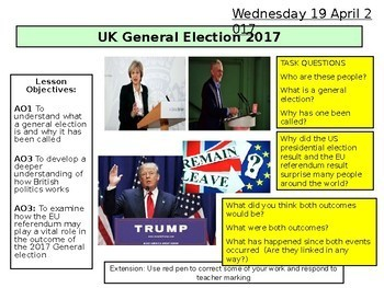 UK General Election 2017 and Brexit - Parliament Government - European Politics