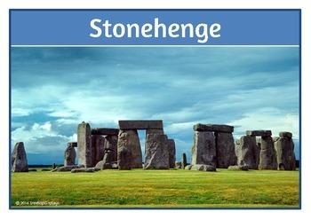 UK Landmarks Photo Set