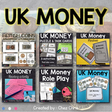UK Money British Pounds : Flashcards, Activities , Worksheets and Games