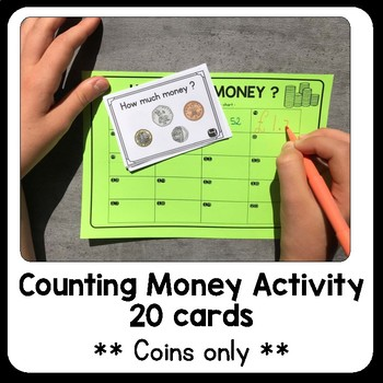 UK Money - Coins : Puzzle and task cards