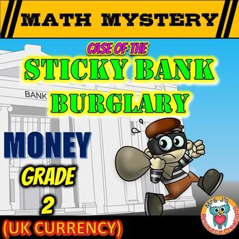 uk money worksheets math mystery money review grade 2. Black Bedroom Furniture Sets. Home Design Ideas
