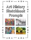 UK/NZ/AU Version:  Art History Sketchbook Prompts Set #1