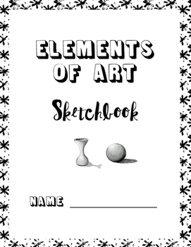 UK/NZ/AU Version:  Elements of Art Printable Sketchbook