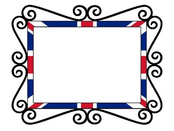 UK Picture Frame and Clip Art